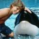 "Keiko  With Jason in ""Free Willy"""